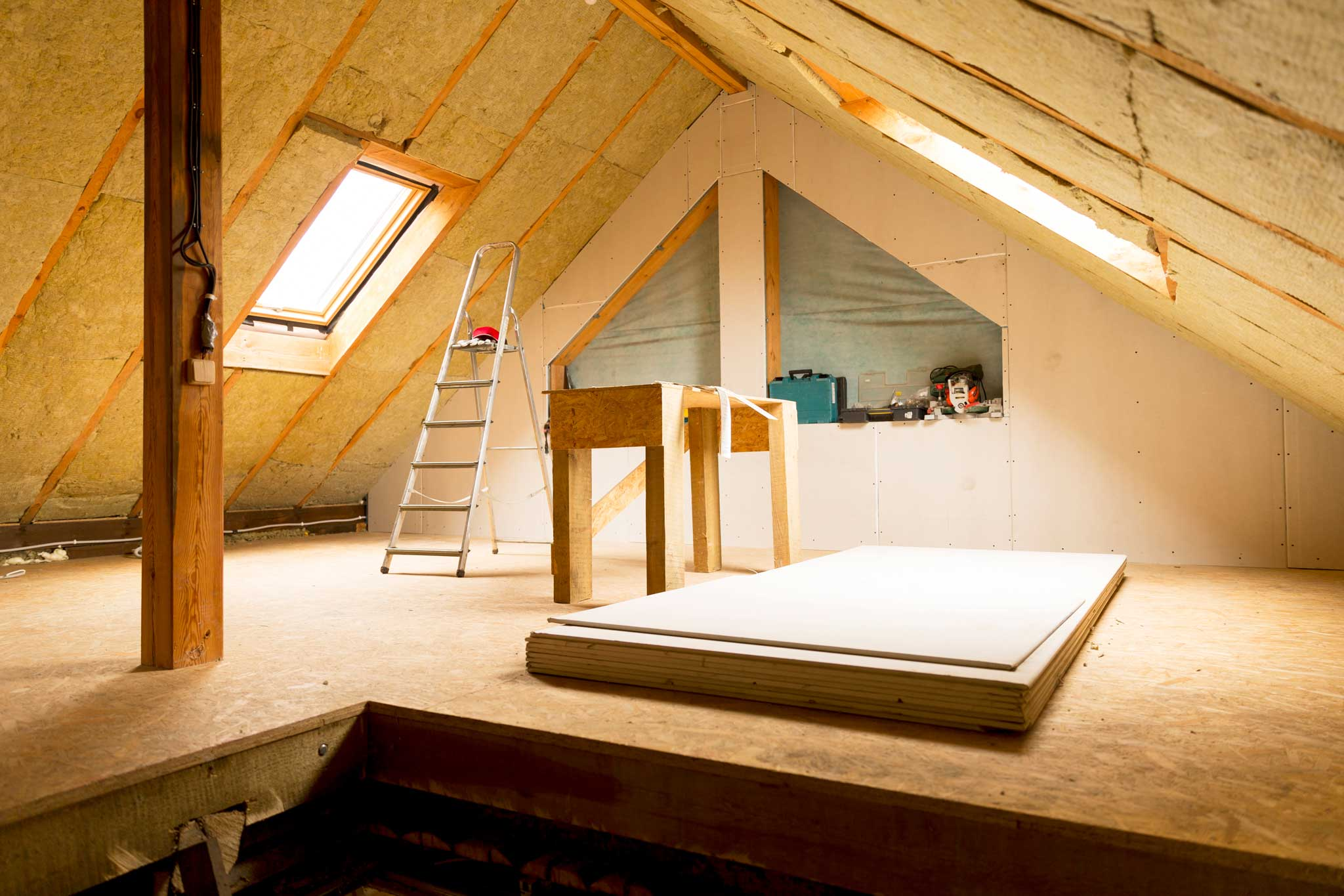 Room in roof insulation walsall home